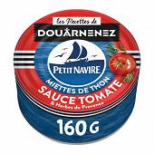 Petit Navire miettes de thon tomates & herbes de Provence 160g