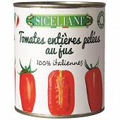Siceliani tomates entières 800g