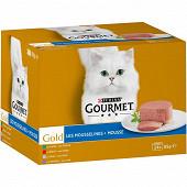 GOURMET GOLD Boîtes pour chat adulte Les Mousselines - 24 x 85 g
