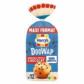 Doowap brioches sans additifs aux pépites de chocolat x12 480g