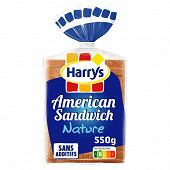 Harrys pain de mie american sandwich nature 550g