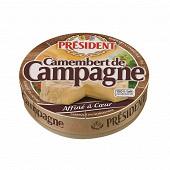 Président Camembert de campagne 22%mg 250g