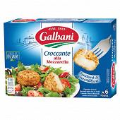 Galbani croccante alla mozzarella x6 150g
