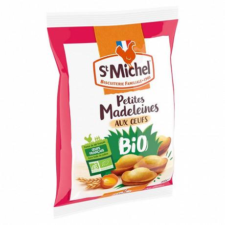 St Michel petites madeleines aux oeufs bio 400g