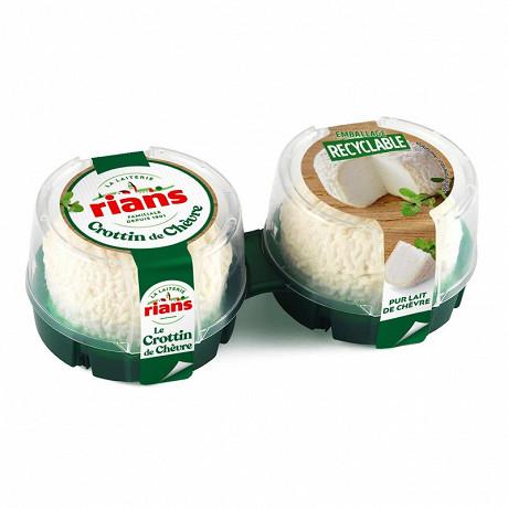 Rians le crottin de chèvre 23%mg 2 x 60g