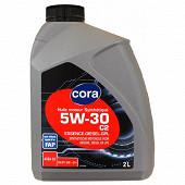Cora huile moteur voiture synthétique 5W30 2 Litres