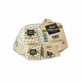 Pavé d'affinois mini l'original 6X30g 31%mg lait de vache 180g