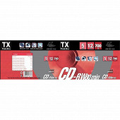 Tx Pack de 5 cd rw 80 min CDWTX80SB5HS