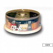 Tx Cloche de 25 cdr 80 minutes 52x CDRTX80SC25