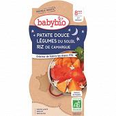 Babybio bonne nuit patates douces sans gluten dès 8 mois 400g