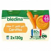 Bledina pots carottes 2x130g