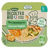 Bledina les récoltes bio couscous végétal dés 15 mois 250g