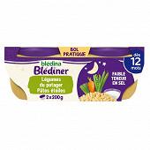 Blédina blédiner légumes du potager et pâtes étoiles dès 12 mois