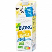 Bjorg boisson riz vanille calcium 1l