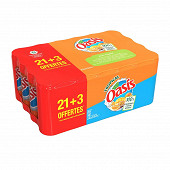 Oasis tropical boite slim 24x33cl (dont 3 offerts)