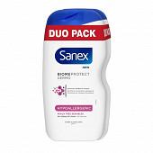 Sanex dermo gel douche hypo allergenic 2x450ml