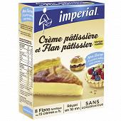 Impérial préparation pour 15 crèmes patissières ou 8 flans patissiers gout vanille format familial