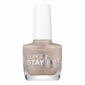 Gemey Maybelline vernis à ongles Tenue&Strong N°19 brun immuable NU logo alarm