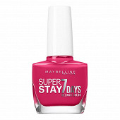 Gemey Maybelline vernis à ongles Tenue&Strong N°180 rose fuschia NU