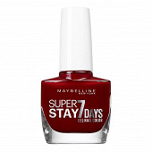 Gemey Maybelline vernis à ongles Tenue&strong N°501 rouge laque NU