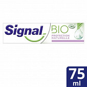 Signal bio dentifrice blancheur naturelle 75ml