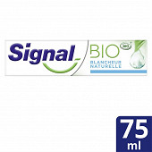 Signal dentifrice blancheur naturelle protection caries cosmebio