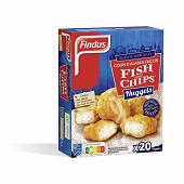 Findus nuggets colin d'Alaska msc façon fish and chips 490g