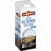 Alter Eco boisson riz quinoa calcium 1l