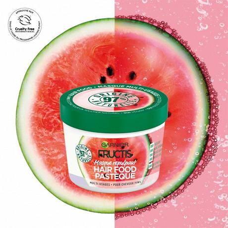 Fructis hairfood masque pastèque 390ml