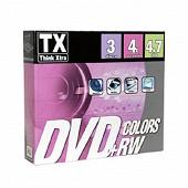 Trax Pack de 3 dvd + rw 20 vitesse 4x DVDTX47B3PRW-20