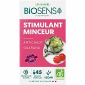Biosens gélules végétales stimulant minceur bio étui+pilulier 23g