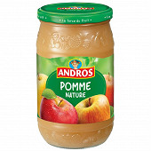 Andros bocal compote de pomme nature 750g