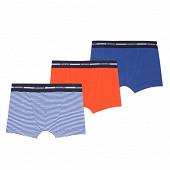 Lot de 3 boxers fantaisie Absorba 45 BLEU BIC 10 ANS