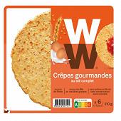 WW crêpes gourmandes 6x35g