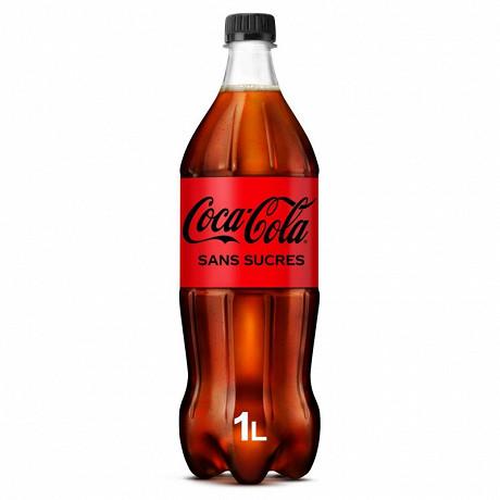 Coca-Cola zéro sucre pet 1l