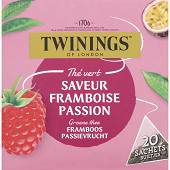 Twinings the vert à la framboise passion x20 32g