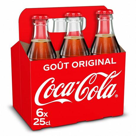 Coca-Cola ivp 6x25cl basket