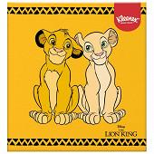 Kleenex boîte cubique Disney de 56 mouchoirs blanc