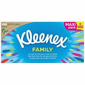 Kleenex original boîte Family de 140 mouchoirs