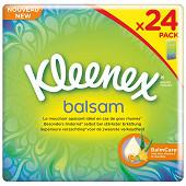 Kleenex balsam 24 étuis