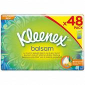 Kleenex balsam 48 étuis