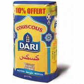 Dari couscous moyen 1kg+10%