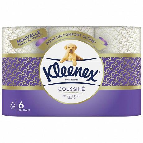 Kleenex papier toilette coussiné x6