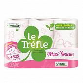 Le Trefle papier toilette maxi douceur 6rouleaux