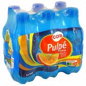 Cora pulpé orange pet 6x33 cl