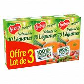 Pursoup liebig velouté de 10 légumes lot de 3x1l