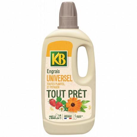 Kb engrais tout prêt universel toutes plantes et potager 1 litre