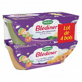 Bledina blediner bols petites pâtes épinards lait x2 800g