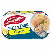 Saupiquet filets thon citron 1/6 115g
