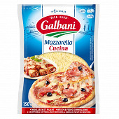 Galbani mozzarella cucina râpée spéciale pizza 150 g